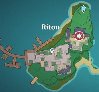 1 Электрокулус на карте Риту