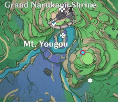 24 карта Electroculus к юго-востоку от острова Большой Наруками