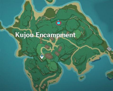 42 Сторожевая башня Electroculus на карте лагеря Кудзё