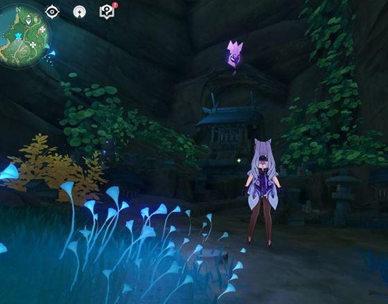 9.Электрокулус внутри пещерного храма в игре