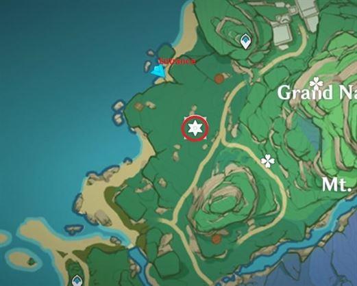 9 Электрокулус на карте пещерного святилища