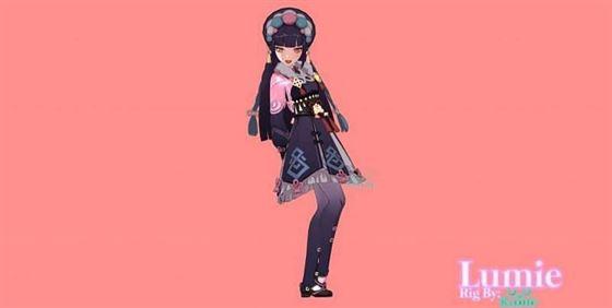 Yunjin render (изображение предоставлено Lumie)
