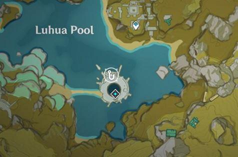 Место рыбалки в бассейне Лухуа