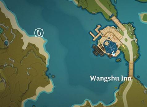 Место для рыбалки к западу от гостиницы Ваншу