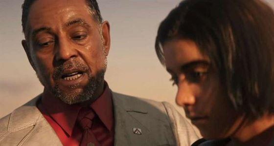 Антон Кастильо и его сын Диего в Far Cry 6. (Изображение предоставлено Ubisoft)