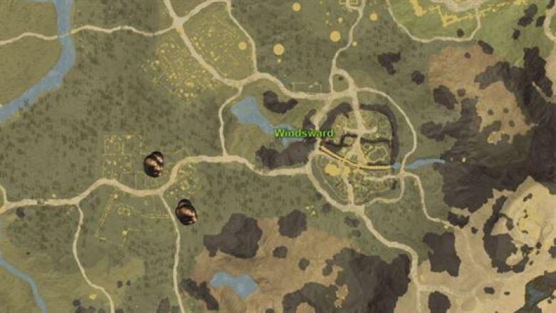 Картофельная карта Нового Света Windsward