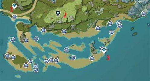 Карта расположения фермы Starconch 3 Yoaguang Shoal