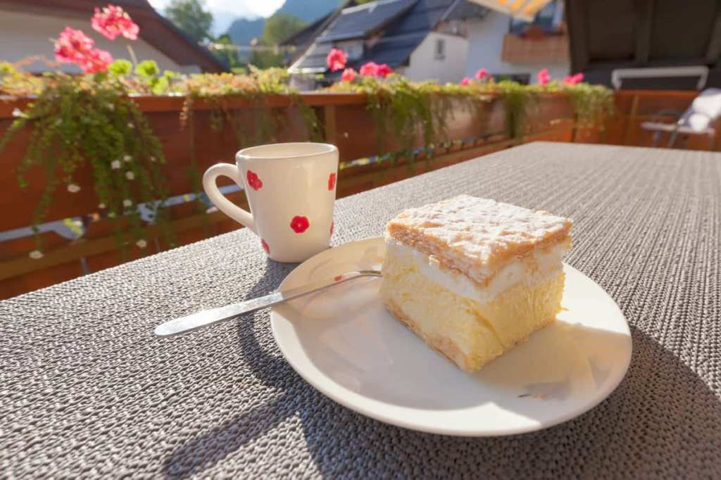 Things to do in Slovenia? Try  Bled's custard cake of course!