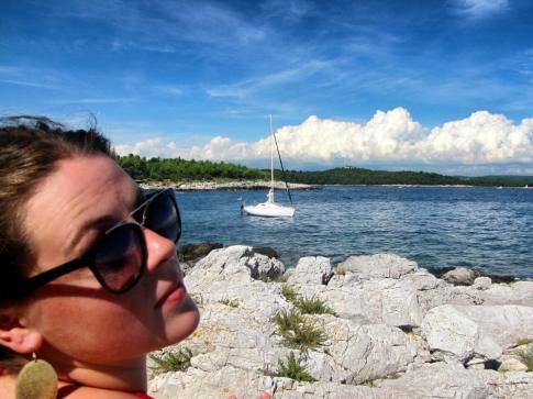 Relaxing on Cres Island, Croatia
