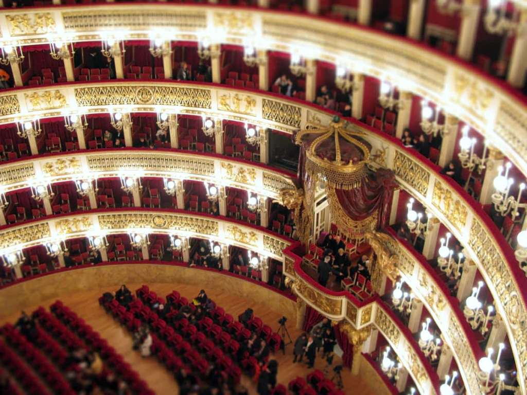 Most Photographed places in Italy: San Carlo Opera house in Naples