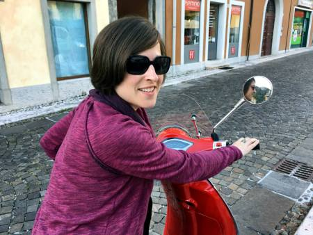 Scootering in Veneto