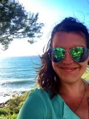 Enjoying the sun in Cefalu