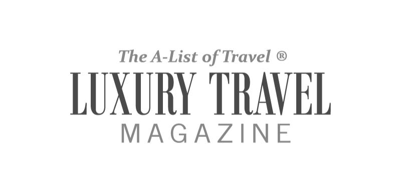 Logo for Luxury Travel Magazine