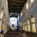 Interior of a church in Ortigia, Sicily