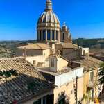 Rooftops in Ragusa, Sicily