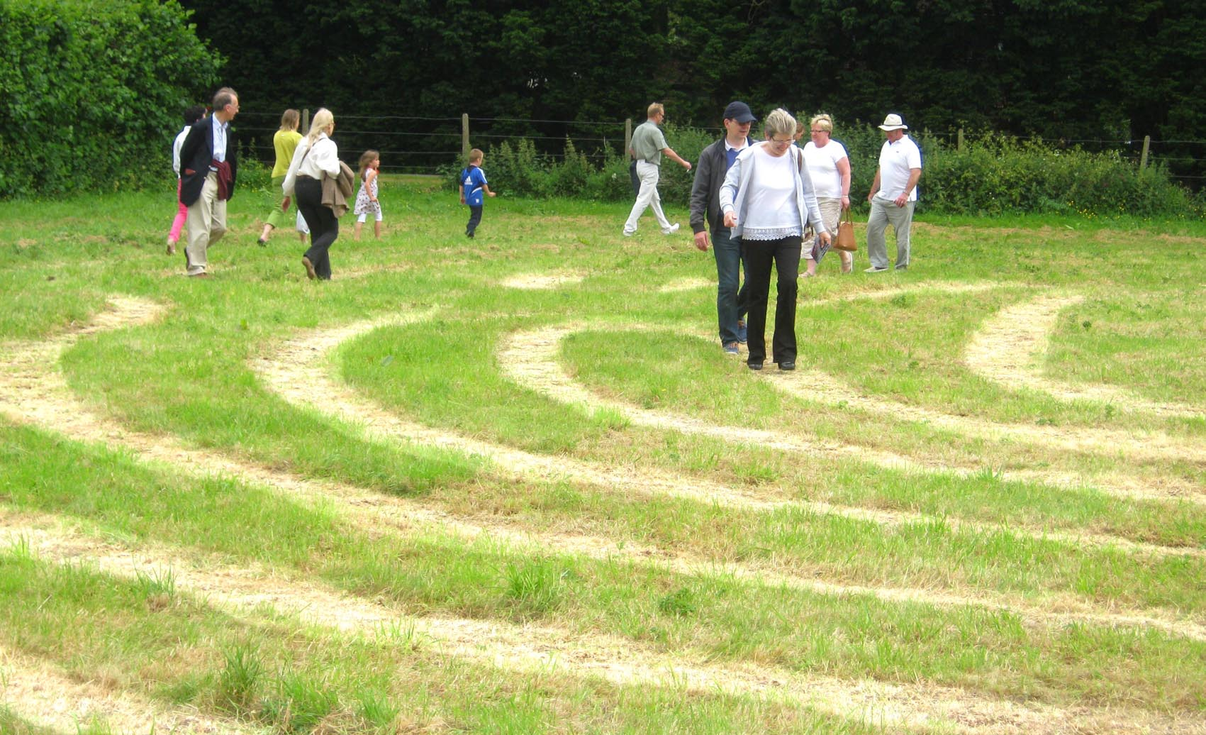 Read more about the article Otford Labyrinth