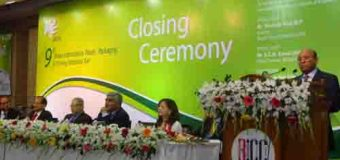The 9th International Plastic Fair 2014 Closing Ceremony, Date: 23 February 2014
