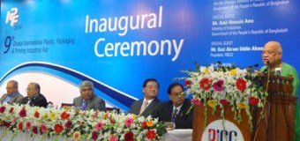 The 9th International Plastic Fair 2014 Opening Ceremony, Date: 20 February 2014.
