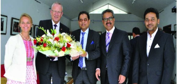 P-BGMEA Leaders Meeting Danish-Minister