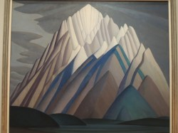 """Mountain Forms,"" about 1926 - Lawren Harris"
