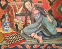 Odalisque on a Turkish Chair, 1928