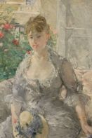 Berthe Morisot, Young Woman Seated on a Sofa, circa 1879