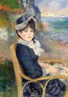 August Renoir, By the Seashore, 1883