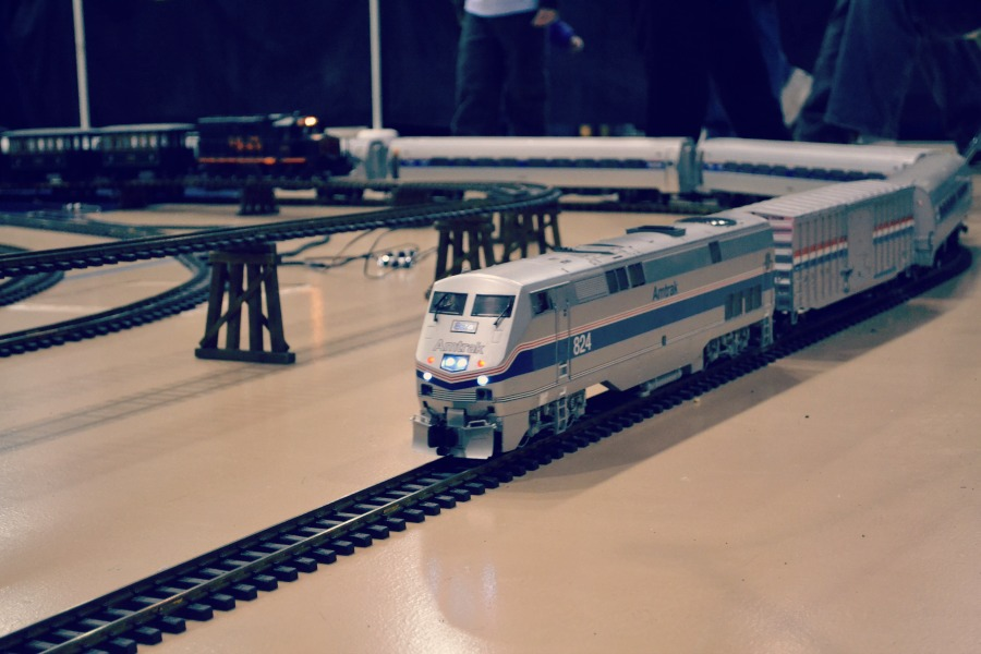 High Wheeler Train Show Amtrak