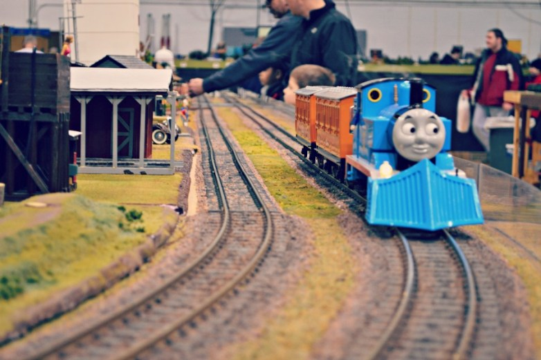 High Wheeler Train Show Thomas