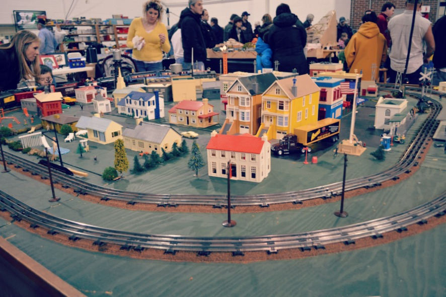 High Wheeler Train Show Track Layout