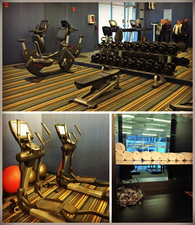 Aloft Chicago OHare Gym