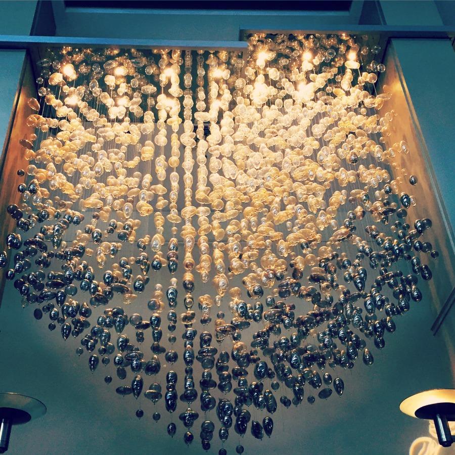 Swissotel Chicago Bubble Light Fixture