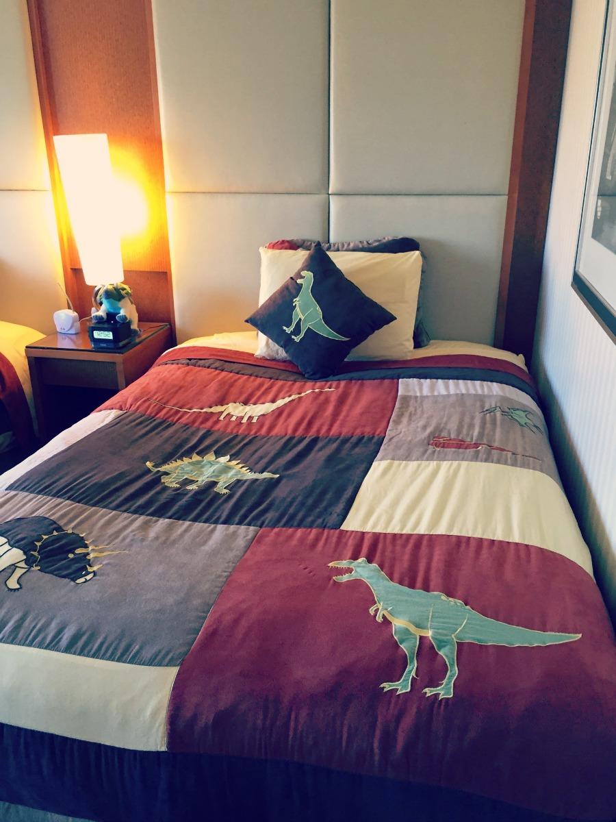 Swissotel Chicago Dinosaur Bedroom