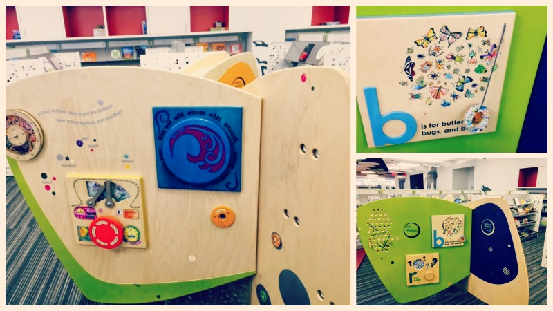 Barrington Area Library Fun Wall - O the Places We Go