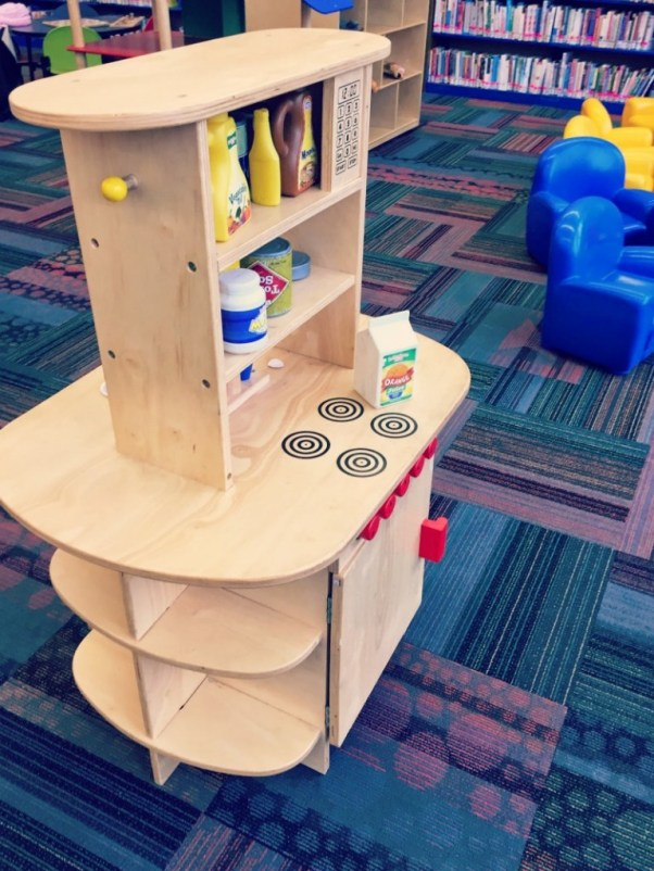 Elk Grove Library Play Kitchen