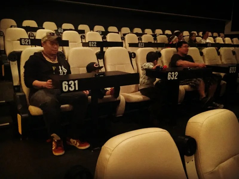 Star Cinema Grill Seating