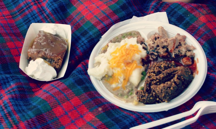 Highland and Scots Festival Food