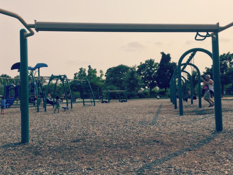 Fountain Square Park Elk Grove Village Playground Zipline