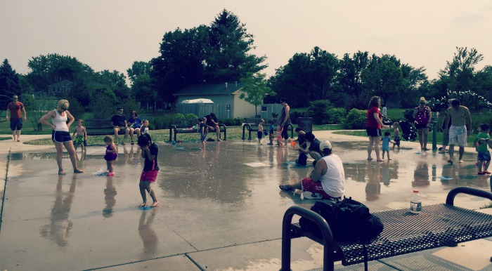 Fountain Square Park Elk Grove Village SplashPad