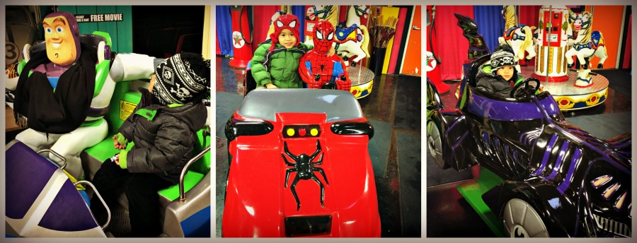 Volo-Auto-Museum-Kids-Spiderman-Batman-ToyStory