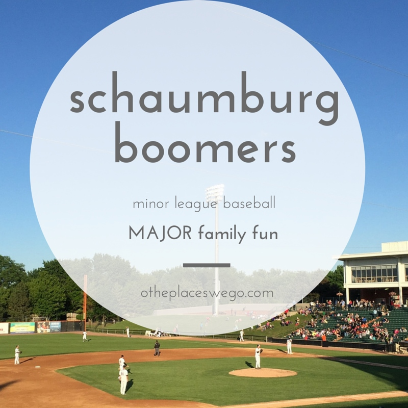 Schaumburg Boomers: Minor league baseball, major family fun and {Ticket GIVEAWAY}