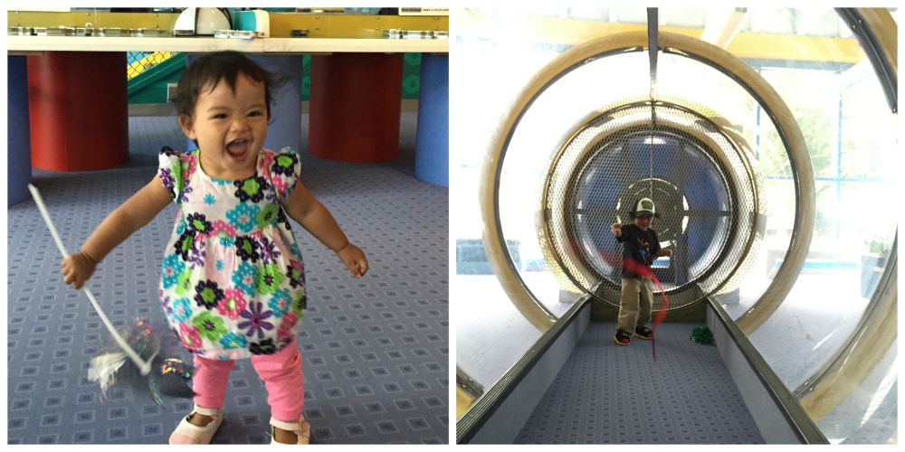 DuPage Childrens Museum Grand Reopening Wind Tunnel