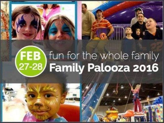 Family Palooza February 27 28 St Charles