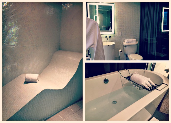 Le Meridien Chicago Oak Brook Spa Suite Tub Heated Seat