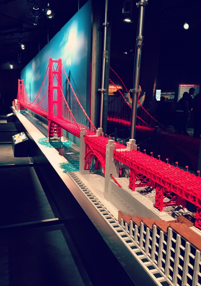 Reasons why you should visit the Museum of Science and Industry's Brick by Brick Exhibit. Fantastic LEGO architectural replicas!