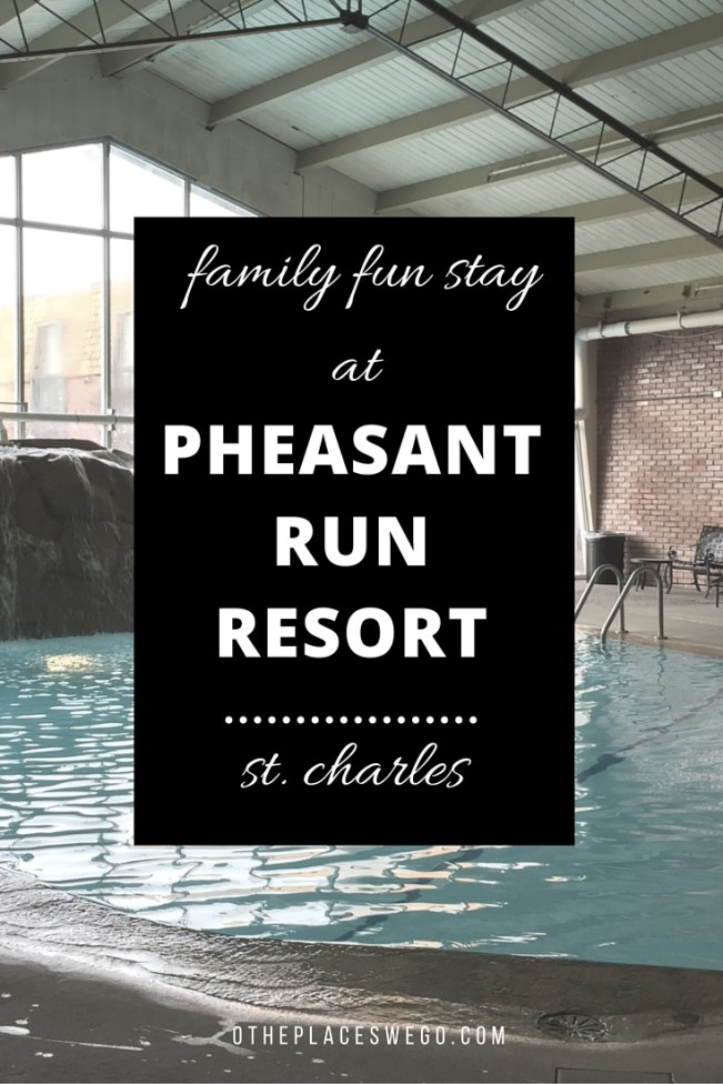 A review of the Pheasant Run Resort in St. Charles Illinois. Great location, wonderful spa, and two great pools.