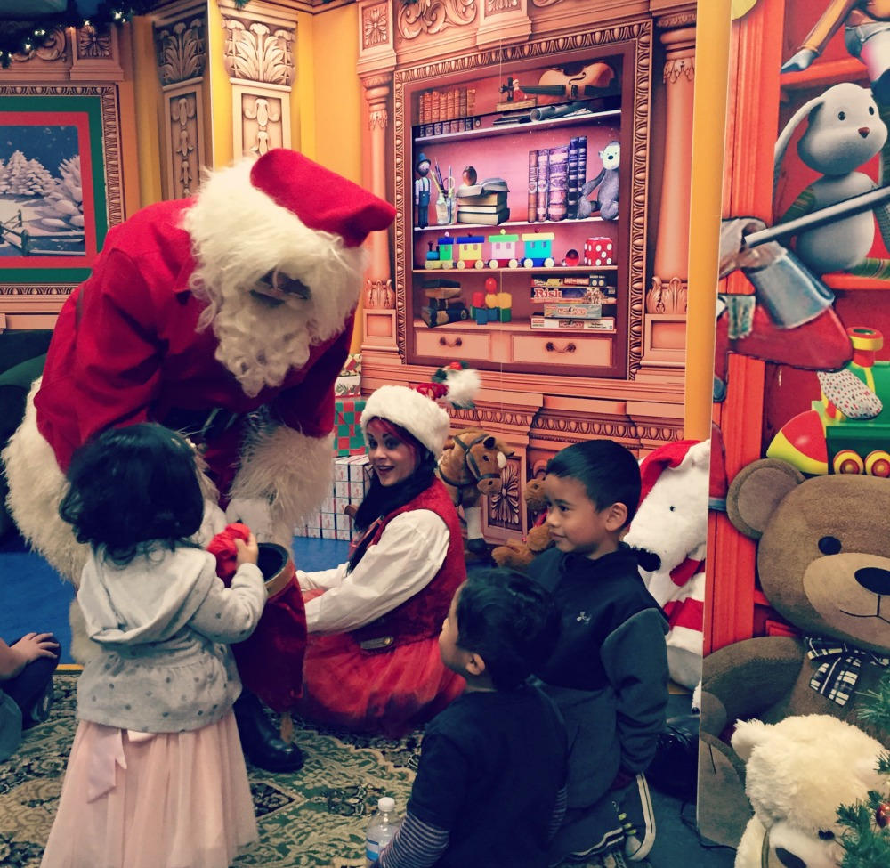 Holiday Fun: Santa's Magical Trolley Express at DuPage Children's Museum