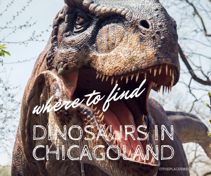 New dinosaur exhibits in the Chicagoland