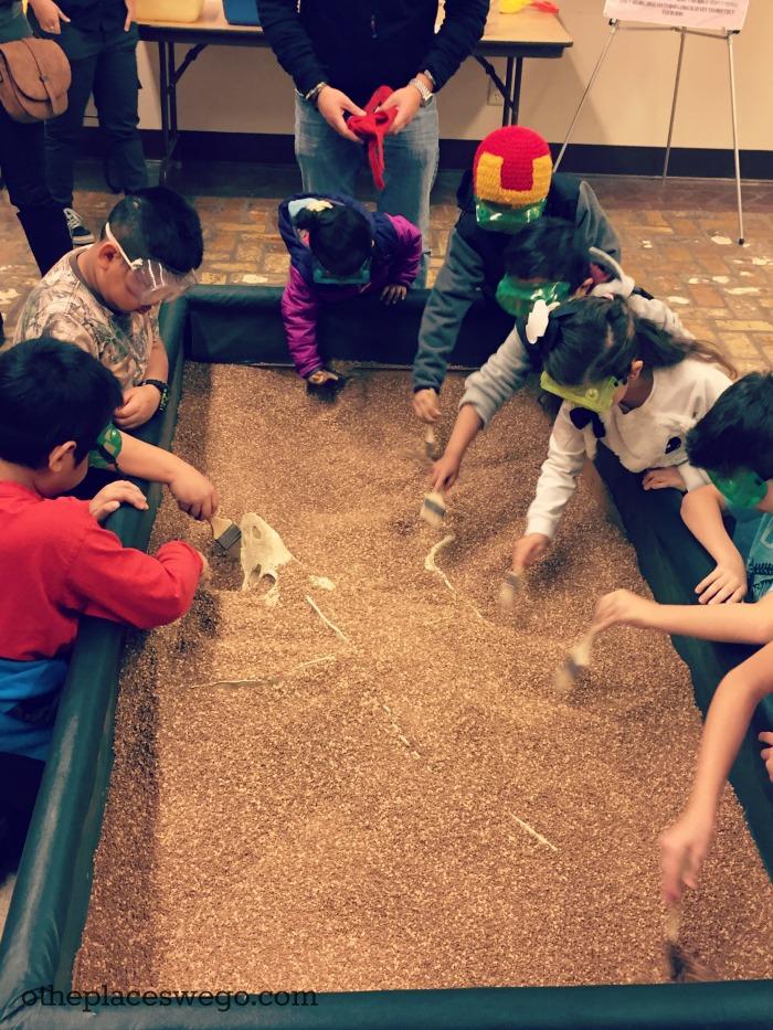 Dinosaur Discovery Museum Kenosha - Dino Dig