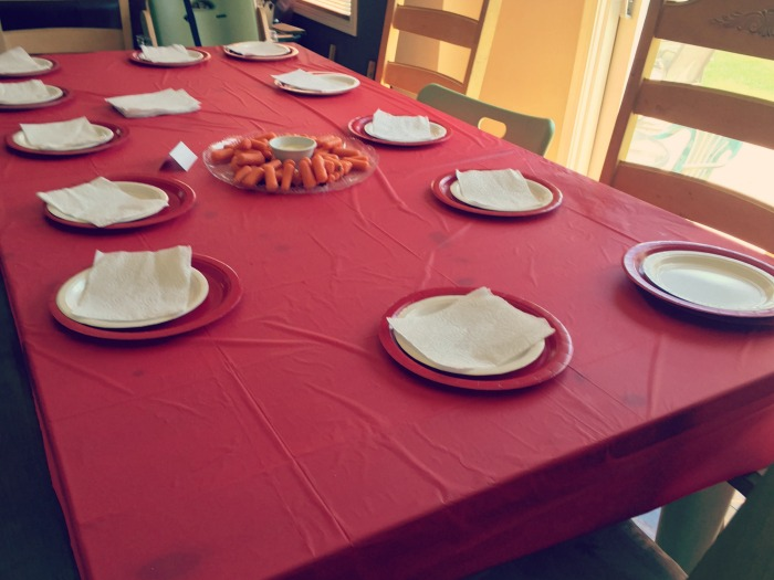 Pokemon Birthday Party - Tablescape